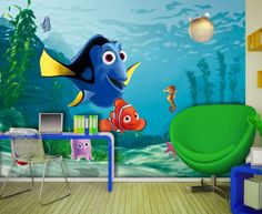 Find This Pin And More On Finding Nemo Disney Room   Finding Nemo Wall  Murals   Finding Nemo Kids Curtains   WallandMore. Part 59
