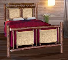 Hickory Beds, nightstands and dressers Nightstands, Dressers, Guest Cabin, Outdoor Furniture, Outdoor Decor, Bunk Beds, Home Decor, Decoration Home, Loft Beds