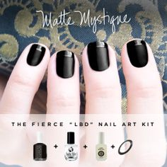 Matte Mystique all-in-one Nail Art Kit! I want to try this so bad, but it looks like a fall or winter