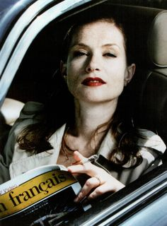 """viola-goes-to-hollywood: """" Isabelle Huppert by Helmut Newton """" Isabelle Huppert, Helmut Newton, Ralph Gibson, Robert Mapplethorpe, Lindbergh, Artistic Photography, Color Photography, Jean Loup Sieff, Michael Haneke"""