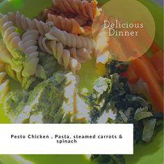 9 Likes, 0 Comments - Taskeen Jamal Karim 🧕🏽👧🏽👶🏽 Healthy Meals For Kids, Kids Meals, Toddler Snacks, Pesto Chicken, Kid Friendly Meals, Spinach, Chicken Recipes, Tasty, Jar