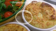 Brandade de Morue ( au Thermomix ) Cheeseburger Chowder, Soup, Chicken, Ethnic Recipes, Couture, Jars, Planks, Cooking Recipes, Dinner Entrees
