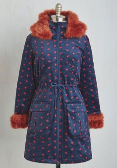 Liberal Arts Cottage Coat From the Plus Size Fashion Community at www.VintageandCurvy.com