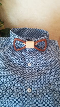 Wooden Bow Tie + Pocket Square - Wood Bow Tie / Wood Bowtie - Boys Bowtie…