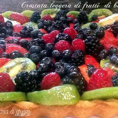 Crostata leggera di frutti di bosco