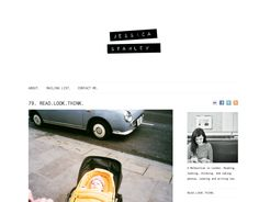 nice layout and simple header for blog