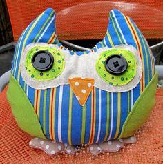 Owl Doorstop, Alfie. £14.00