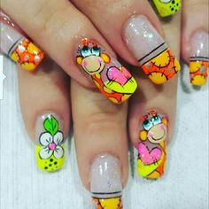 Resultado de imagen para jirafas en uñas Nails, Darwin, Painting, Beauty, Enamels, Giraffe Illustration, Polish Nails, Feet Nails, Pedicures