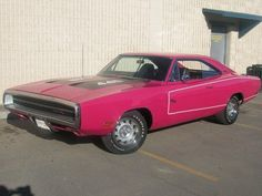 1970 Dodge Charger R/T in Panther Pink! -I actually think I know the guy that had/built this car!
