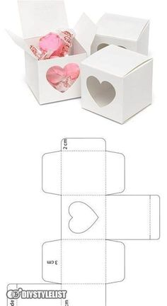Diy Gift Box Template, Paper Box Template, Diy Paper, Paper Crafts, Box Patterns, Paper Toys, Diy Birthday, Diy Gifts, Packaging