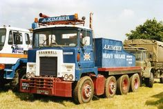 OLD SCAMMEL TRUCKS - Google Search                                                                                                                                                                                 More