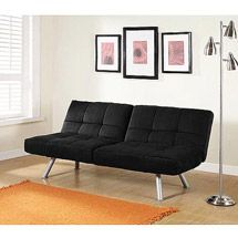 Astonishing Mainstays Metal Arm Futon With Mattress Black Created By Ncnpc Chair Design For Home Ncnpcorg