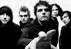My Chemical Romance..... Why!? Why do they have to break up!!! I will miss their music terribly (Please check out their music esp. Teenagers and Welcome to the Black Parade!)