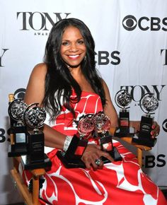 History was made on Sunday night - Audra McDonald won her sixth Tony Awards for performance. A new record!