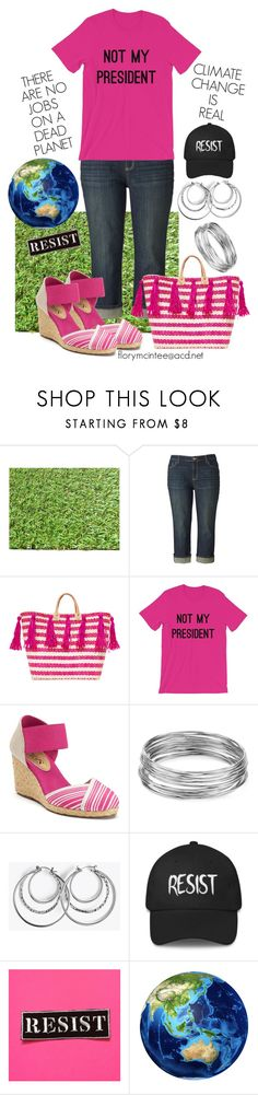 """""""NOT MY PRESIDENT"""" by florymcintee ❤ liked on Polyvore featuring Simply Vera, Mar y Sol, Chaps and Aqua"""