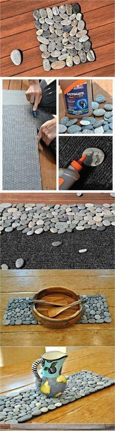 Kamienny dywanik