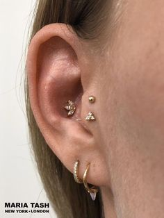 Best Birthday Gift Stainless Steel Yellow IP-plated Laser Cut 4mm Bead Post Earrings