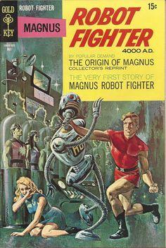 Magnus, Robot Fighter 22 [15-Cent Variant]
