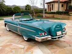 1958 Chevrolet Impala Convertible Maintenance of old vehicles: the material for new cogs/casters/gears/pads could be cast polyamide which I (Cast polyamide) can produce. My contact: tatjana.alic14@gmail.com
