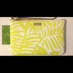 """Sunday SALE!! NWT Kate Spade wristlet!!!! Sunday SALE!!! NWT Kate Spade grant street wristlet!!!!  So pretty !!!!!  It's one of Kate's new wristlets !!!!  Measures 8"""" in length & 5"""" in height kate spade Bags"""