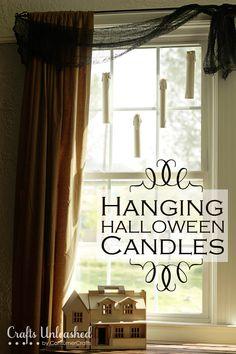 Hanging Halloween Lights