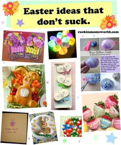 DIY Easter ideas that don't suck.