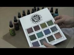 Ranger Perfect Pearls Mists tutorial with Tim