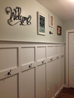 Great idea for the bathroom.