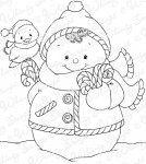 Snowman Candy Cane Bouquet