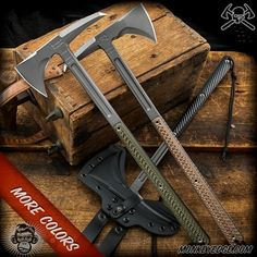 RMJ Tactical Tomahawk: Eagle Talon - Real Time - Diet, Exercise, Fitness, Finance You for Healthy articles ideas Rmj Tactical, Tactical Swords, Tactical Knives, Tactical Gear, Survival Hatchet, Tactical Survival, Survival Tools, Survival Knife, Wilderness Survival