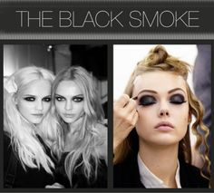The Black Smoke Tutorial from The Beauty Department