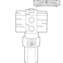 Life Hammer, Crystal Trap coloring page