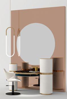 Collaboration avec Roberta MOLTENI, architecte dplg et Paul DION, retail conceptor. Crédits images 3D Charles KALPAKIAN