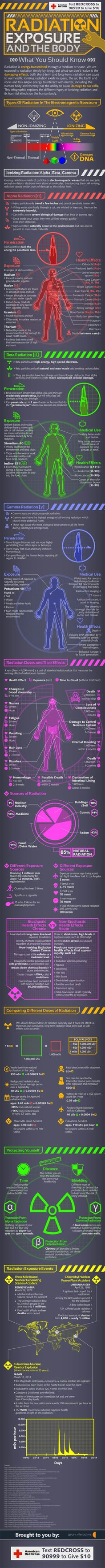 With the tragedy in Japan, there's been a lot of misinformation about radiation out there, so it's great to see this informative infographic by Geary Interactive (thanks TreeHugger for the tip).