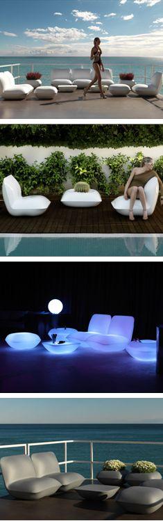 Modern, chic outdoor patio furniture | urbilis.com