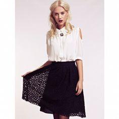 Fusta Josie Fashion Forward, Midi Skirt, Ballet Skirt, Dahlia, Lace, Skirts, Daisy, Clothes, Style