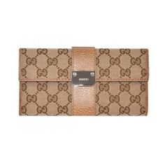 d019d98225bd Gucci Continental Wallet with Engraved Logo and Saleuds Light Brow Sale  Gucci Outlet Online, Gucci