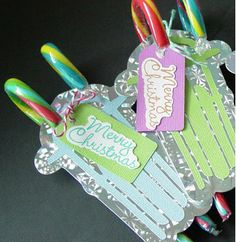 candy cane marketing for your business card - Google Search