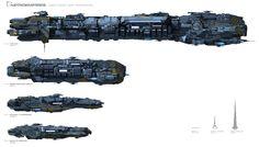chart large ships