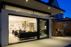Broadgates Road by Granit Chartered Architects House Extension Plans, House Extension Design, Rear Extension, House Design, Extension Ideas, Bungalow Extensions, House Extensions, Single Storey Extension, Edwardian House