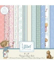 Lillibet 8x8 Designer Paper Pack