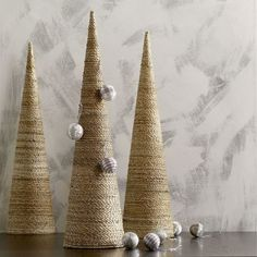10 Cute Cone-Shaped Christmas Trees | Shelterness
