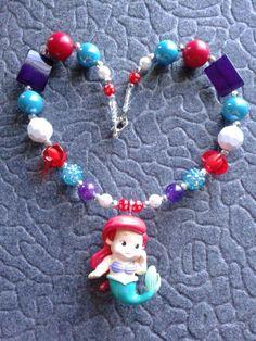 Ariel inspired chunky #cofbeads 2013