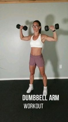 Dumbbell upper body workout for women