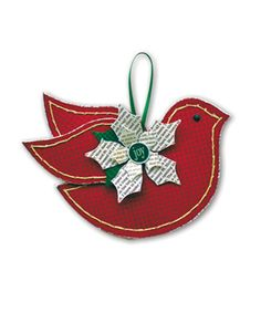 Once Upon a Christmas - Bird Ornament