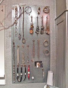 magnetic jewelry board