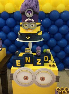 Despicable Me / Minions Birthday Party Ideas | Photo 3 of 7