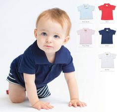 Baby/toddler polo shirt Polo Shirt, Sleeves, Baby, Cotton, Shirts, Polos, Polo Shirts, Polo, Baby Humor