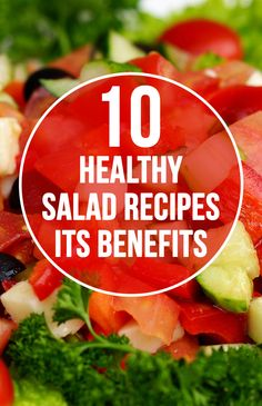 alads keep you healthy! How about trying something interesting than the very same boring salads? Here are the best healthy salad recipes ...