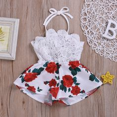 US Newborn Baby Girl Kids Sleeveless Romper Bodysuit Jumpsuit Outfit Clothes - Baby Club – online baby clothes stores where you can find fashionable baby clothes. There is a kid and baby style here. Source by babyshopclothing - Cute Baby Girl Outfits, Baby Girl Romper, Cute Baby Clothes, Baby Girl Newborn, Baby Dress, Kids Outfits, Baby Bodysuit, Baby Girl Jumpsuit, Baby Girl Clothes Summer